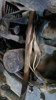 Słabe ładowanie, traktorek Kubota b 1400, prądnica czy alternator
