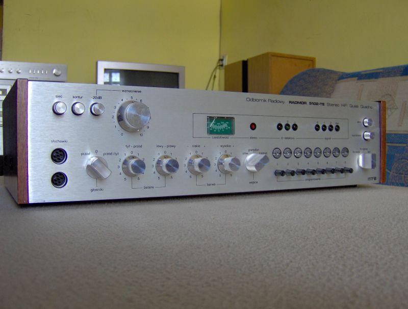 jak uruchomi� odbiornik radiowy radmor 5102-te stereo hifi quasi quadro