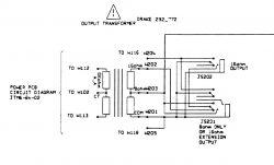 marshall JCM600 - lampy się żarzą milczy. Transformator zasilający burczy.