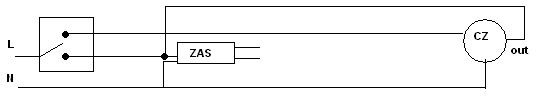 O�wietlenie LED sterowane czujnikiem ruchu.