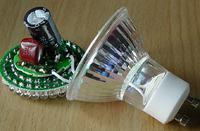 """Jak pozbyć się migotania fabrycznej """"żarówki"""" LED GU10 na 230V"""