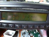 Becker 30 APS - wyświetlacz wyświetla napisy za ciemne