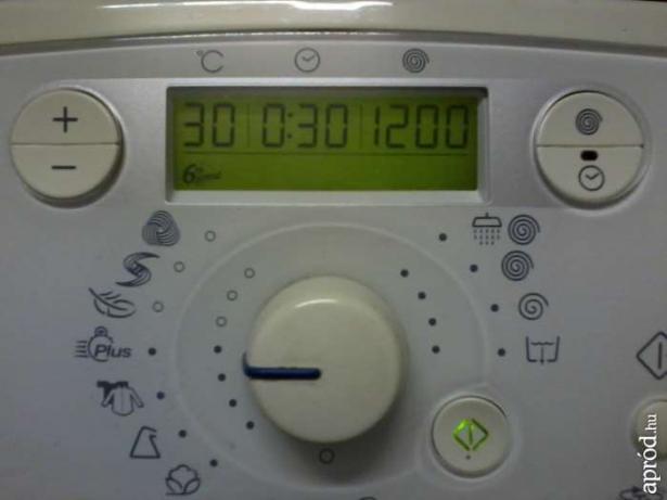 Whirlpool AWT 9120/P - Nie dzia�a regulacja wirowa�.