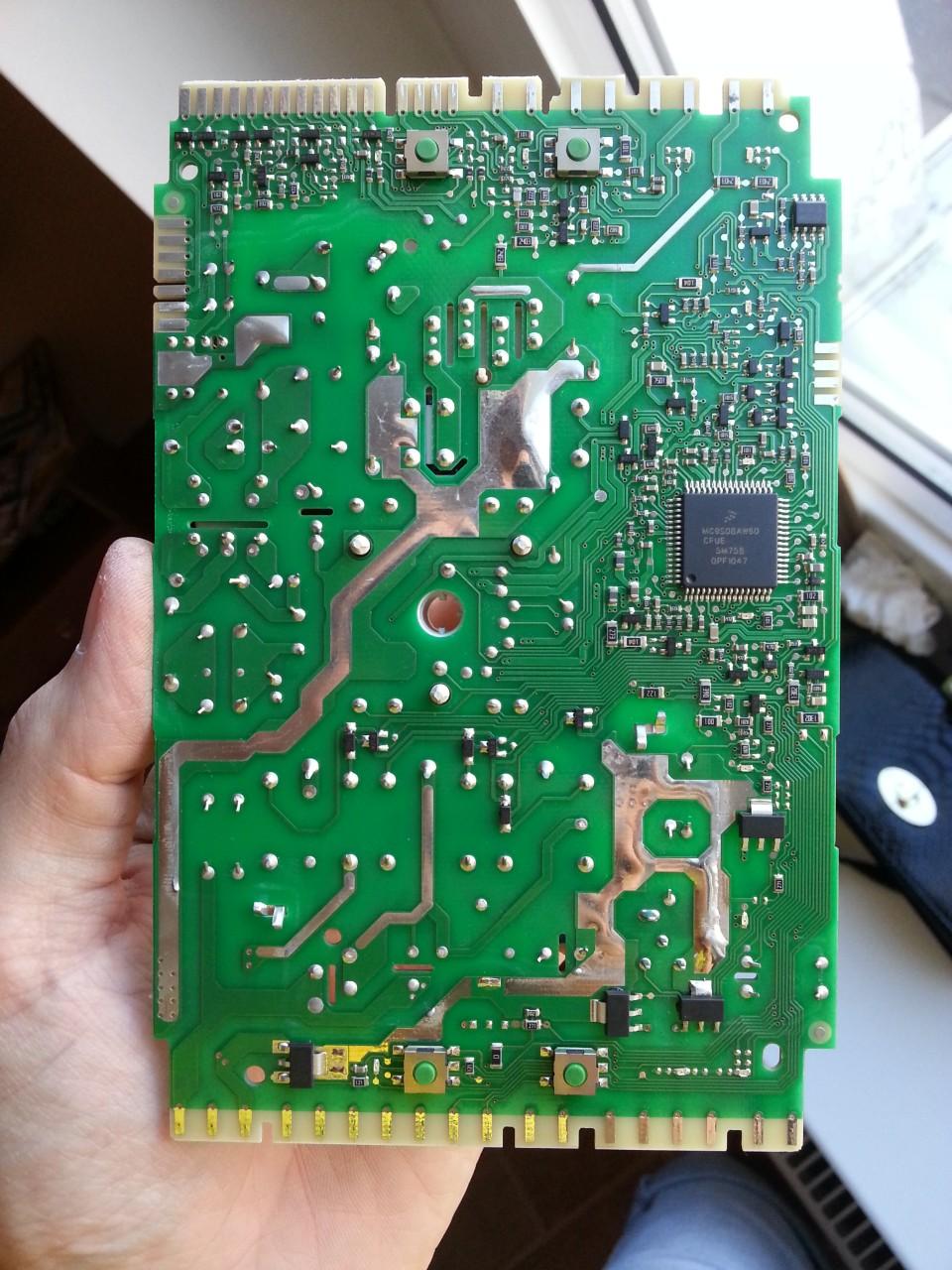 Whirlpool AWO/D 5720/P - Przygasaj�cy wy�wietlacz przy uruchamianiu pralki