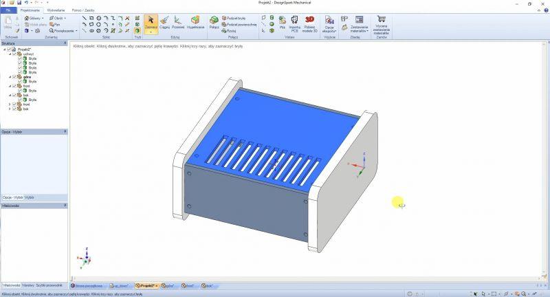 Rysowanie w 3D - seria poradników o DesignSpark Mechanical