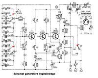 Generator sinus 300kHz o amplitudzie do 1V