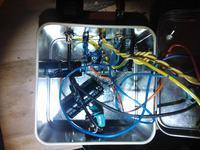 Najprostszy wzmacniacz audio ECL80 SE mono