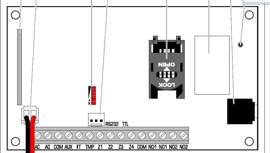 Satel Micra - Syrena alarmowa-zwyk�a z kabel plus minus oraz dioda czuwania