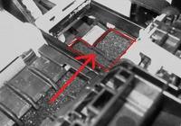 CANON iP4000R - Zapadnięte ssawki (pady) stacji serwisowej