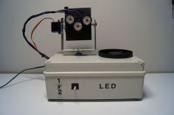 Ruszająca się głowica LED na Arduino
