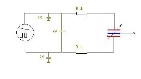 Kondensator zmienny walcowy różnicowy i pomiar przemieszczenia