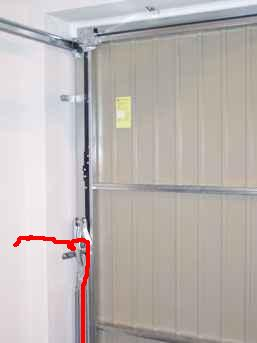 Napęd bramy garażowej uchylnej -prościej i taniej sie nie da