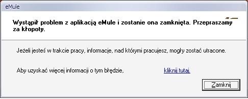 eMule... nie chce się włączyć+problem z Bluetooth