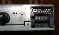 Radio Peugeot 406 Clarion PU-1646A wejście audio