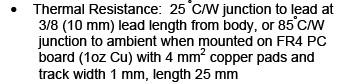 dioda Zenera 10-15W - jakie dostępne obudowy