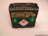 Komputer w skrzynce po amunicji