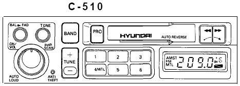Jak podłączyć np. MP3 do radia kasetowego c-510 hyundai