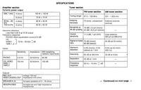 Szukam instrukcji do Sony STR-GX511
