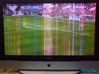 Plazma Samsung PS-42S5H kolorowe zakłócenia na obrazie