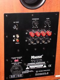 Jak podłączyć wzmacniacz stereo i Magnat Sub 301a ? (fotki)