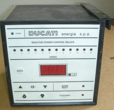 Regulator mocy biernej Ducati Energia - potrzebna instrukcja