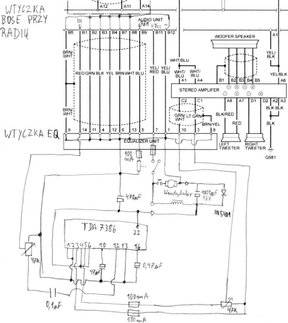 Honda Accord 2001r. uruchomienie systemu bose, szumy silnika