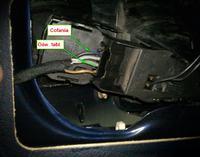 VW Sharan 1,9 TDI 110 KM1998r. - Brak świateł cofania i oświetlenia tabl.rejestr