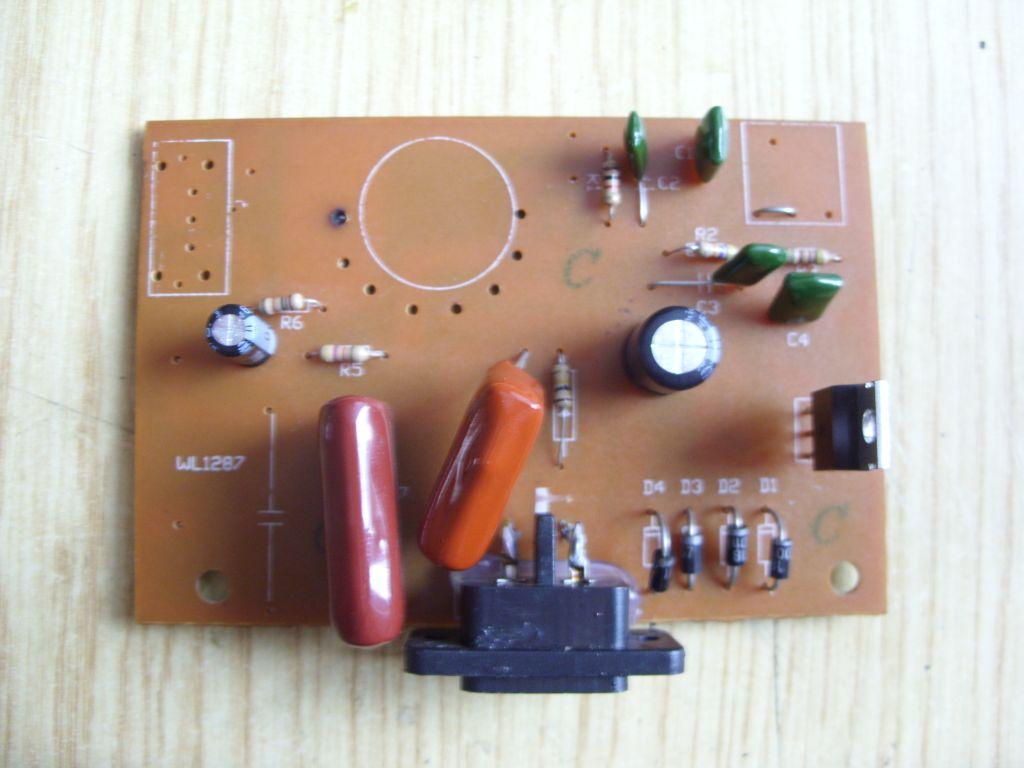 Naprawa lampy plazmowej - transformator wysokonapi�ciowy