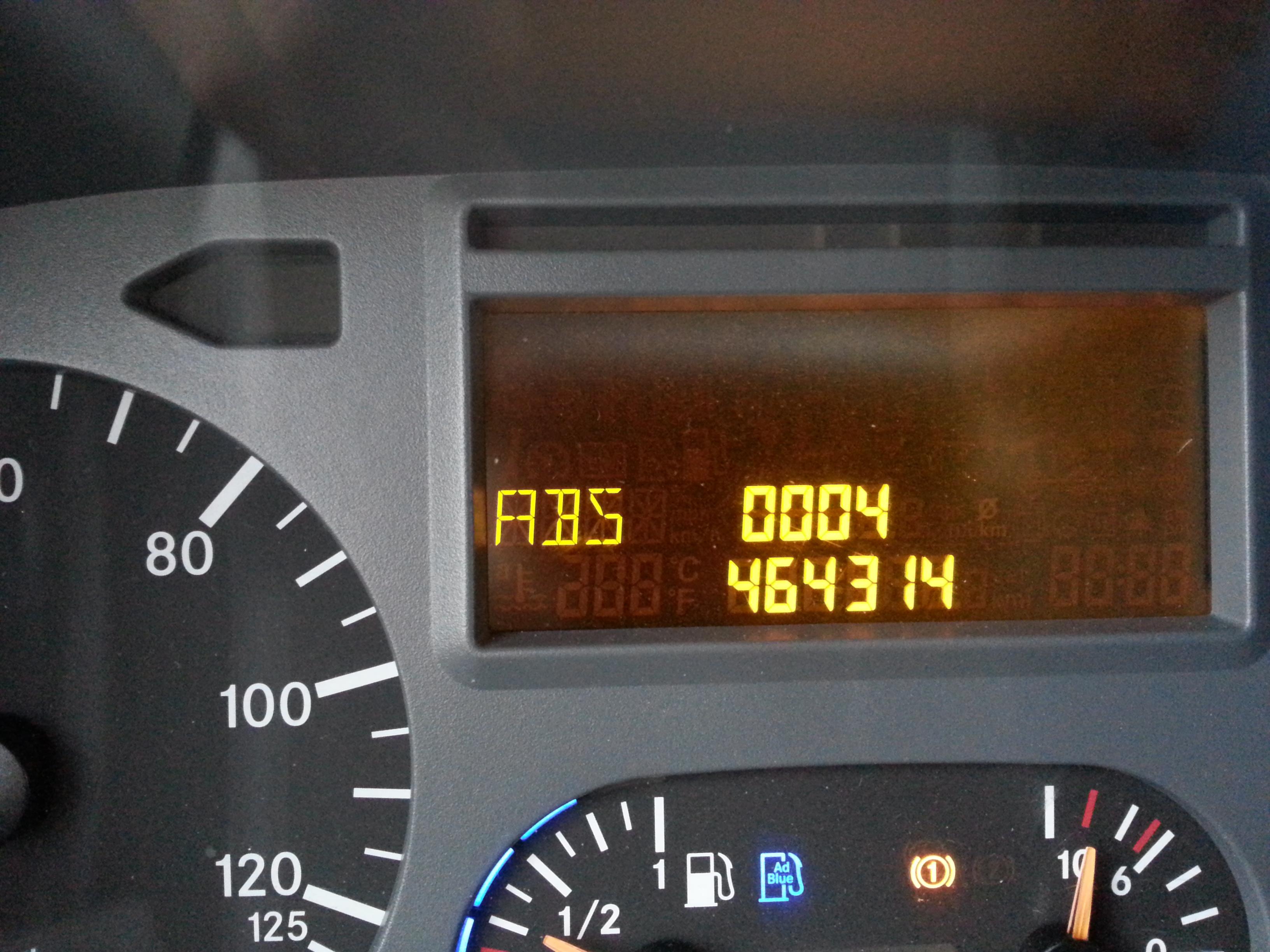 Mercedes Atego 1224 kody b��d�w.Wtyczka OBD