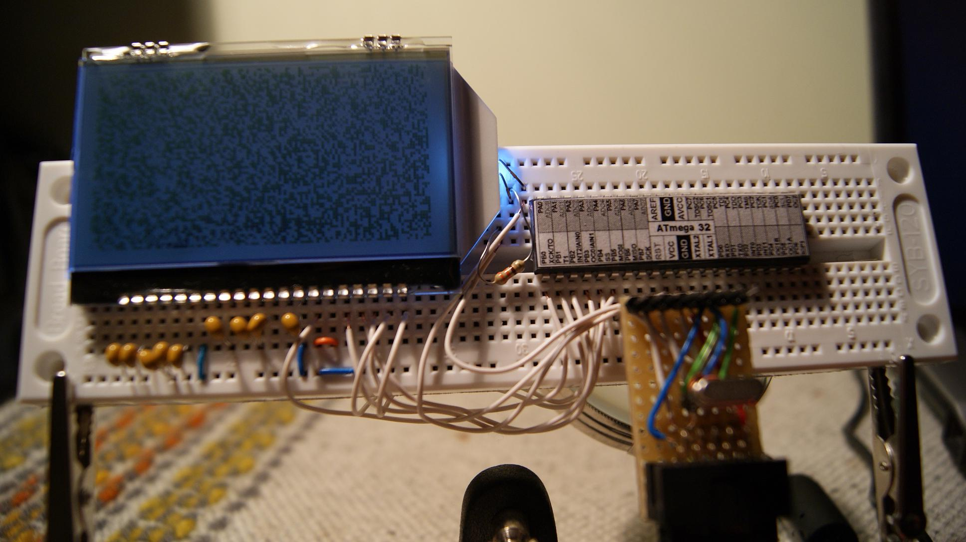 [Atmega32][c] - [ST7565] - Wy�wietlacz LCD-AG-C128064CF-FHW nie chce zadzia�a�