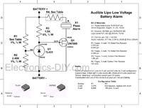 Ochraniacz ogniw Li-pol (alarm)