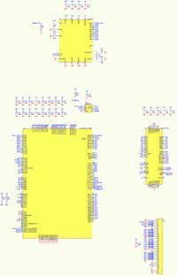 uC [LM32] ze sterownikiem ISI i LCD TFT na FPGA. Du�o pyta�.
