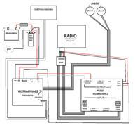BMW [e46] - G�o�niki + skrzynia + wzmacniacz na fabrycznym radiu. Jak to zrobi�?