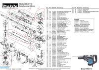 Wiertarka Makita HR40011C - naprawa