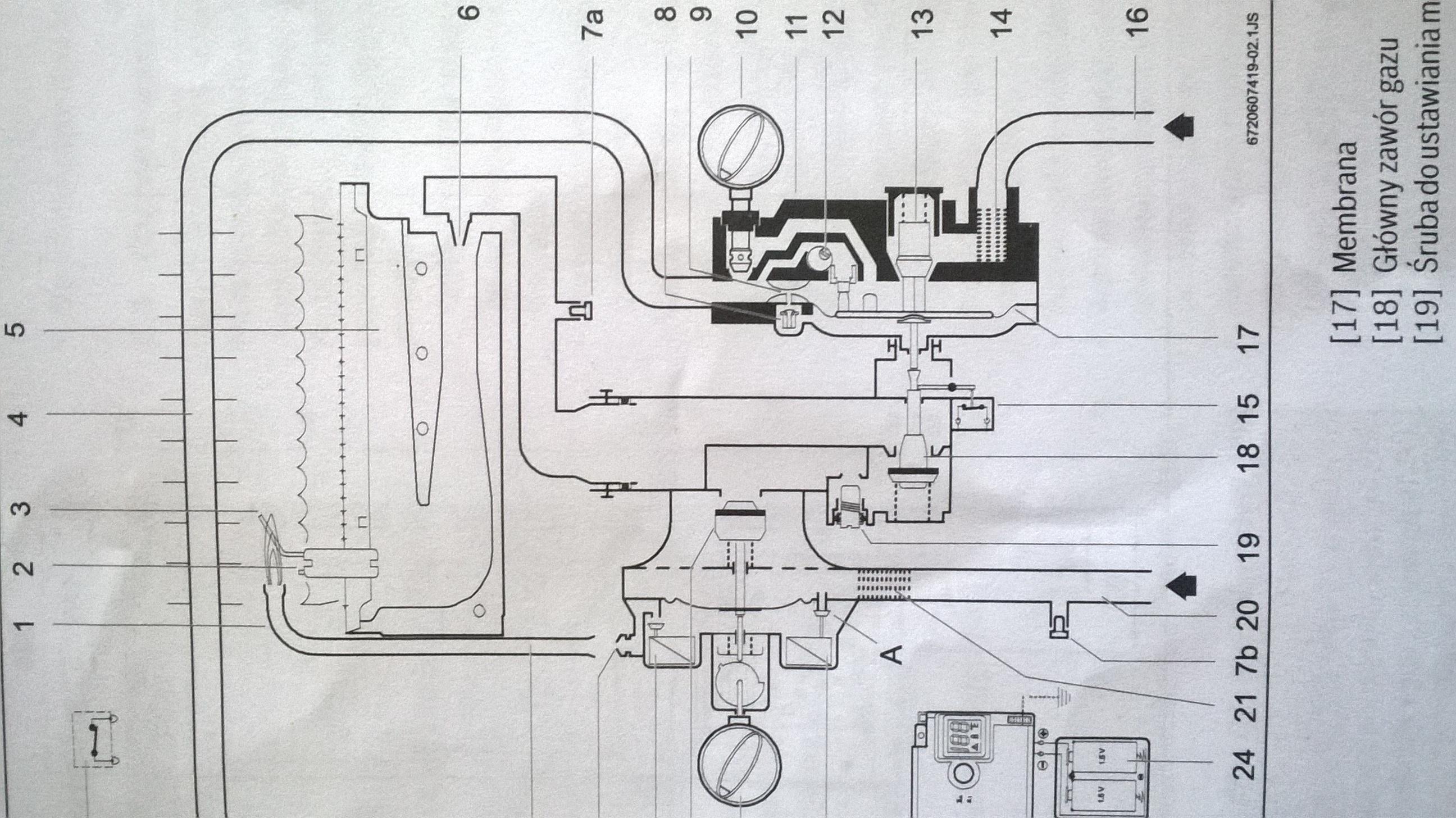 Junkers wrp 11b - Zbyt du�e ci�nienie wody wymagane do odpalenia