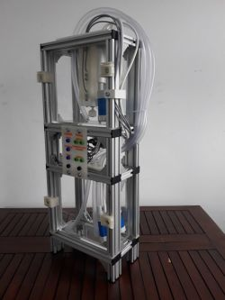 Makiety edukacyjne do nauki PLC - winda oraz przepompownia