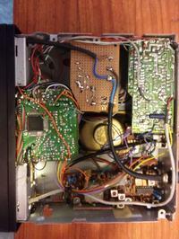 Cyfrowa skala pomiarowa z dodatkami ze starego radia samochodowego
