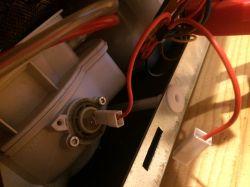 Candy CDS 155 - zmywarka jak odłączyć grzałkę