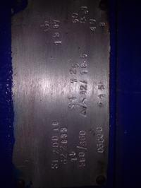 Rozszyfrowanie opisu z tabliczki znamionowej silnika