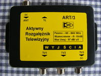 Co jest nie tak w starej instalacji, Antena DVB-T + 2TV ze zmianą na 3TV
