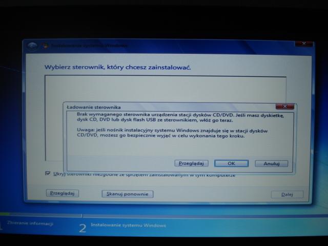 Bootowanie Acer Aspire 5552G