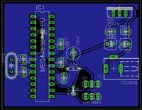 eagle - sprawdzenie schematu nadajnika rf 433mhz