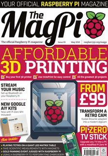 The MagPi - magazyn o Raspberry Pi - wydanie 69, maj 2018