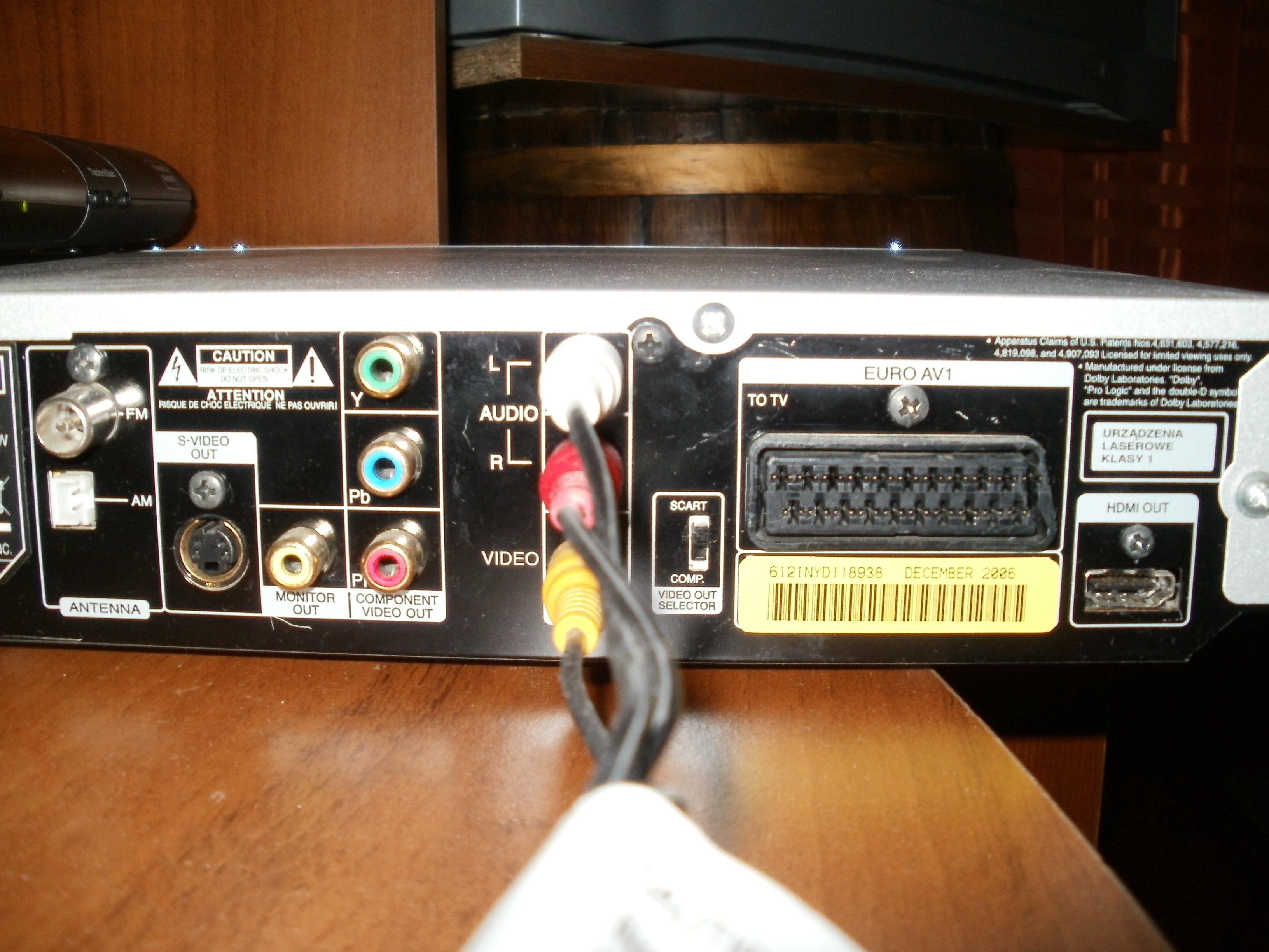 Laptop -> TV - Przekazanie obrazu i d�wi�ku z laptopa do TV + kino domowe.