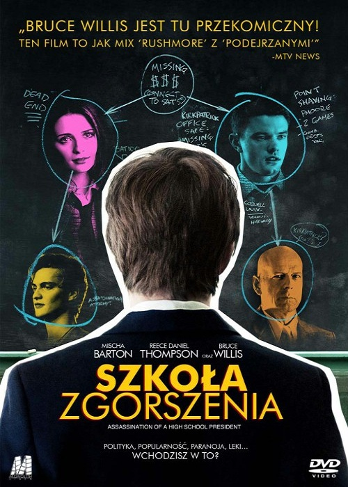 Szko³a Zgorszenia / Assassination Of A High School President (2008) PL.DVDRip.XViD-S0D0Mi45 / Lektor PL