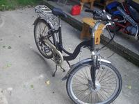 Rower elektryczny, silnik w kole, nie dzia�a , rower nap�d