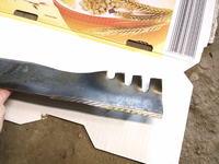 Kosiarka Honda GCV 160 - Krzywy nóż, wał, nienaturalny wygląd po uderzeniu?