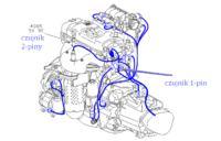 Peugeot 307 1.6 benzyna TOO HIGH COOLING TEMPERATURE odrazu po odpaleniu silnika