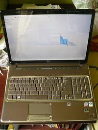 """[Sprzedam] Laptop HP 17"""" DV7-1299EW - w 80% sprawny."""
