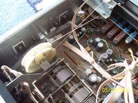 Kenwood KR-720 - palenie się tranzystorów mocy